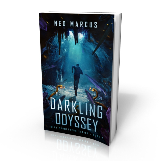 The Darkling Odyssey by Ned Marcus (cover by Damonza)