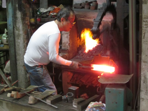 Blacksmith in Shiding—Ned Marcus