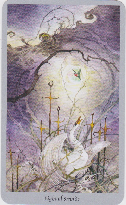 8 of Swords—Shadowscapes Tarot