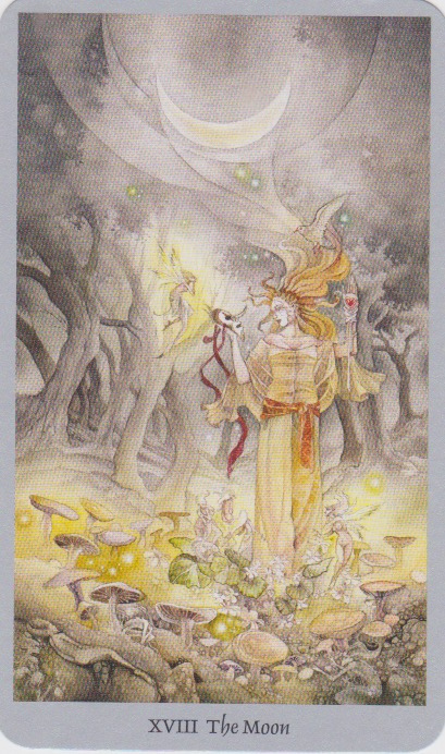 The Moon—Shadowscapes Tarot