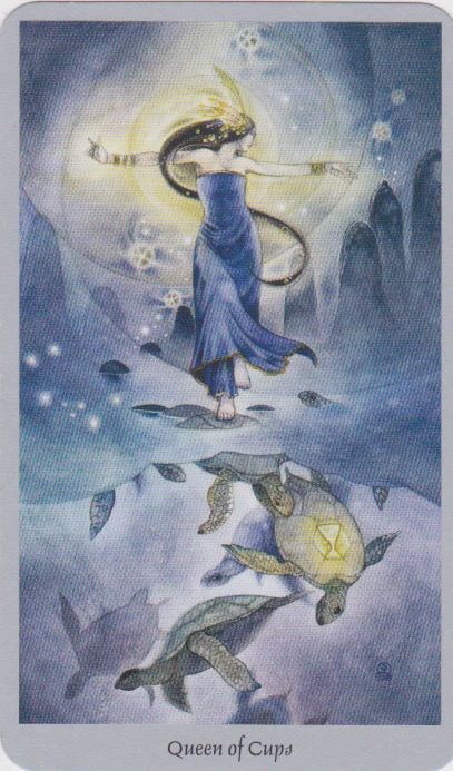 The Queen of Cups—Shadowscapes Tarot