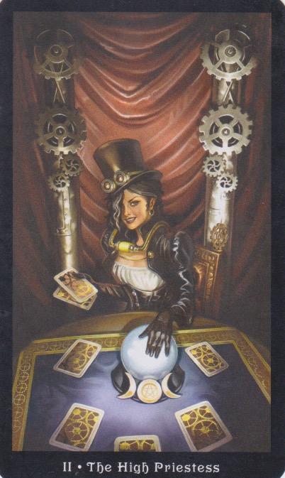 High Priestess (Steampunk Tarot)