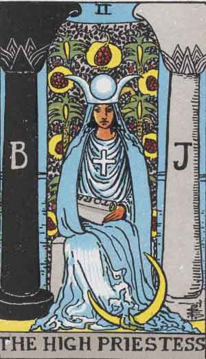 The High Priestess (Rider-Waite-Smith Tarot)