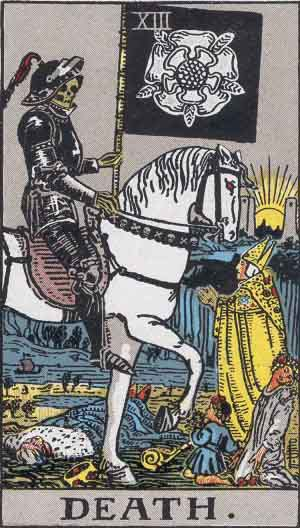 Ned Marcus—Death Tarot.